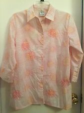Allison Daley, ladies top, size 8, perfect colors for spring, Mint condition!!!