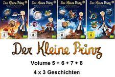 Der Kleine Prinz - 5+6+7+8, 4 x 3 Geschichten (KIKA | ARD | ZDF) DVD NEU + OVP!