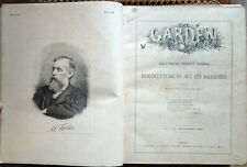 1898 – THE GARDEN. AN ILLUSTRATED WEEKLY JOURNAL OF HORTICULTURE, FIORI BOTANICA