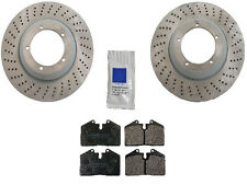 Porsche 911 Carrera with Turbo Look 1984-1988 Front Brake KIT Discs Rotors Pads