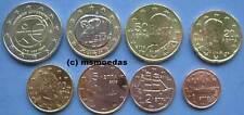 Griechenland 8 Euromünzen 2009 mit 1 Cent bis 2 Euro cc WWU/EMU Münzen coins KMS
