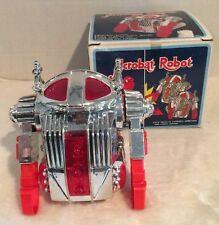 Vintage Robot Toy Battery Operated In Original Box Tested Working JC 8186