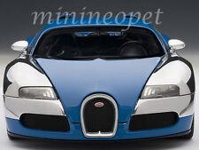 AUTOart 70956 BUGATTI VEYRON L'EDITION CENTENAIRE 1/18 FRENCH BLUE / JEAN PIERRE