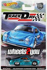 VOLKSWAGEN KARMANN GHIA - 2016 Hot Wheels Car Culture TRACK DAY - D Case -