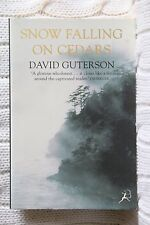 Snow Falling on Cedars by David Guterson ( New, Free postage with tracking )