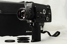 """VINTAGE MINT!"" NIKON R8 SUPER 8mm FILM / MOVIE CAMERA w/ CASE From japan #0309"