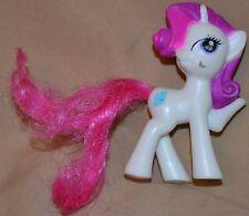"3"" Rarity The White Pony My Little Ponies With A Diamond Cutie Mark Toys Unicorn"
