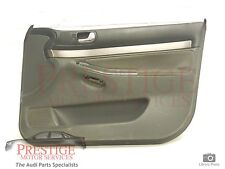 Audi A4 B5 OS Right Front Black Grey Door Card