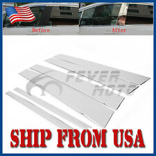 US Stainless Steel Chrome Side Window Pillar Post Cover Fit Honda Accord 08-12FM