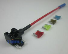 Auto Car Add a Circuit ATM TAP Low Profile Blade Fuse Holder+7.5A 10A 15A 20A
