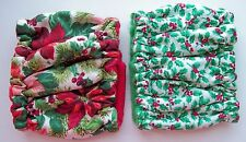 Dog Diapers XSMALL 2 pk Male HOLIDAY CHRISTMAS Belly Band Elastic Wrap 8 10 Tiny