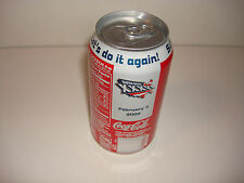 SUPER BOWL XXXVI SODA COKE CAN PATRIOTS RAMS VERS. A NFL 2002 NEW ORLEANS ISSUE