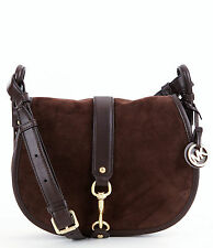 MICHAEL KORS BAG/Shoulder BAG WESTON MD SADDLE BAG coffee/brown new