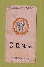 1910s S25 tobacco / cigarette / college silk  CITY COLLEGE OF NEW YORK  CCNY