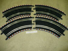 SCX COMPACT 1:43 SLOT CAR (4) OUTSIDE CORNER TRACKS NEW FREE SHIP