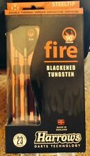 Harrows Fire 23g 90% Tungsten Steel Tip Darts