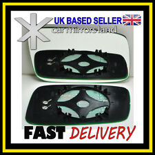 Right Driver Side Wing Mirror Glass HEATED VOLVO S40 V40 95-04