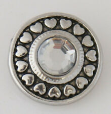 Genuine Snap It Button Charm Fit Snaps Style Bracelets **We Combine Shipping**