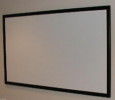 """130"""" PROFESSIONAL CINEMA GRADE PROJECTOR PROJECTION SCREEN BARE MATERIAL US MADE"""