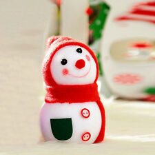 Christmas Snowman Doll Decoration Xmas Tree Hanging Ornament Gift Red UK