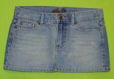 EUC LiLu sz 3 Juniors Womens Blue Jeans Denim Mini Skirt L0002