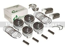 Pistons Main Rod Bearings Honda Civic del Sol 1.6  D16Y5 D16Y7 D16Y8 SOHC