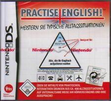 Nintendo DS 3ds English Training 2 practise inglés ** nuevo