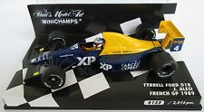 F1 1/43 TYRRELL 018 FORD ALESI GP FRANCE 1989 MINICHAMPS