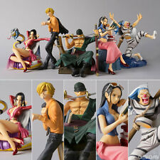 ONE PIECE/SET 5 PCS 6-10 CM SANJI ZORO  HANCOCK BUGGY ROBIN EPISODE CHARACTERS 2