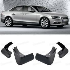 4Pcs Car Mud Flaps Splash Guard Mudguard Fender for 2013 2014 2015 Audi A4 Sedan
