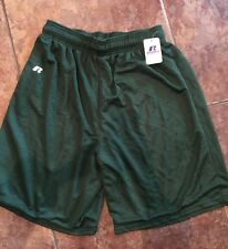 Russell Men's Green Athletic Workout Running Shorts Size Large New