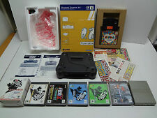 Randnet 64DD System for Nintendo 64 + 7 Game-Pack + Flyers Nintendo Japan EXC