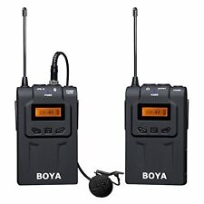 BOYA BY-WM6 Wireless Lavalier Microphone collar Mic for DSLR Canon Nikon SONY