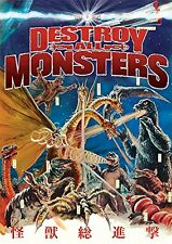 Godzilla Destroy All Monsters! DVD NEW! OOP! IN STOCK!
