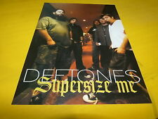 THE DEFTONES - Mini poster couleurs 2 !!!