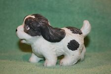 HOMCO Figurine Of A Black And White Dog / Puppy