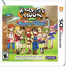3DS Harvest Moon: Skytree Village Nintendo Natsume Simulation Games