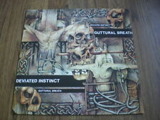 DEVIATED INSTINCT - GUTTERAL BREATH A1 B1 PEACEVILLE RECORDS 1990 EX