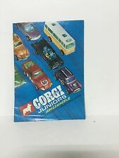 CORGI JUNIORS With Whizzwheels Plus Colourful  Collectors Cards Original 60