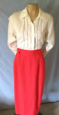 Vintage Briggs NY Straight Skirt Size 8 (Vintage Sized As A 10) Career o
