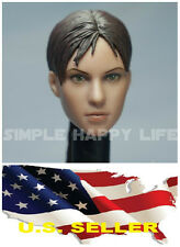 1/6 Jill Valentine head sculpt Resident Evil 5 custom hot toys kumik USA