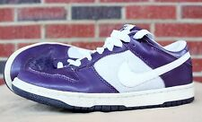 Nike Dunk Low Sneakers Shoes Sz 8 Womens Grand Purple White Silver 317815 511