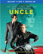The Man From U.N.C.L.E. Blu-ray/DVD New Factory Sealed English/French Canada