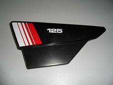 125 DTMX 1981  EMBLEMES COMPATIBLE POUR CACHES LATERAUX