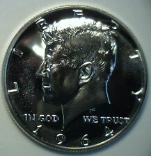 1964 Proof 90% Silver Kennedy Half Dollar Coin 50 Cent from Proof Set
