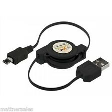Retractable Micro Data Charge USB for Samsung Galaxy S1 S2 S3 S4 S5 Note i9500