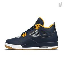 "Kids Air Jordan 4 Retro GS ""Dunk From Above"" SZ 7Y Navy 408452-425"