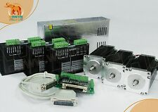 USA&EU FREE Wantai Nema23 stepper motor 1.9N.m(270oz-in) 3V 3A hot sell cnc kit