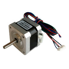 New 1.8 Degree 42mm NEMA17 2 Phase Stepper Motor For 3D Printer or CNC 0.22NM