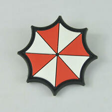 Resident Evil Umbrella 3D Rubber PVC Velcro Moral Military Tactical SWAT Patch